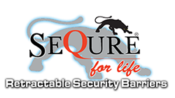 Sequre - Retractable Security Barries